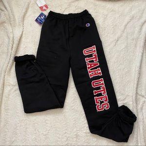 University of Utah champion sweatpants